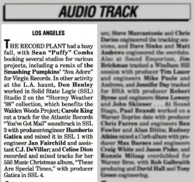 Billboard magazine 19990116
