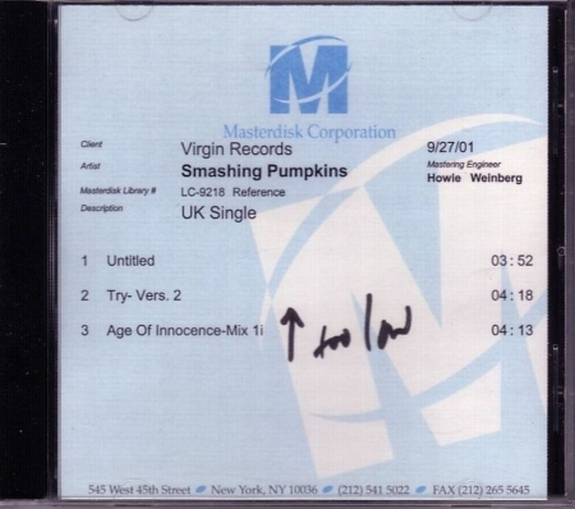 Untitled (BC testpressing cd)