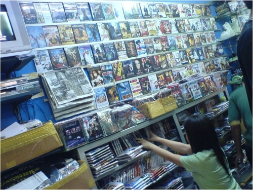 02. Typical CD-DVD shop Indonesia