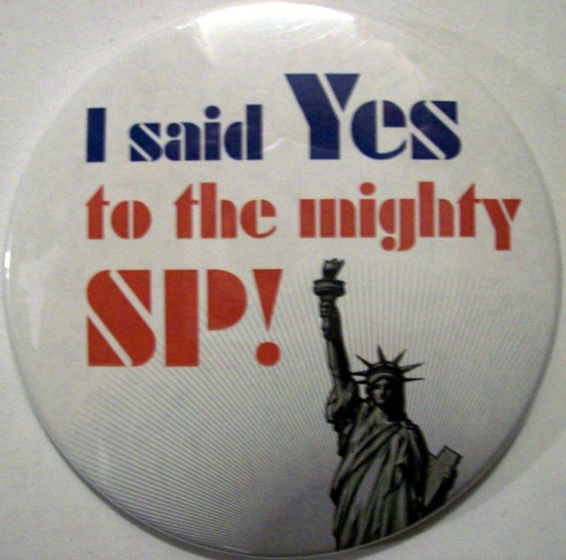 Pin US Zeitgeist (I said Yes to the mighty SP!)a