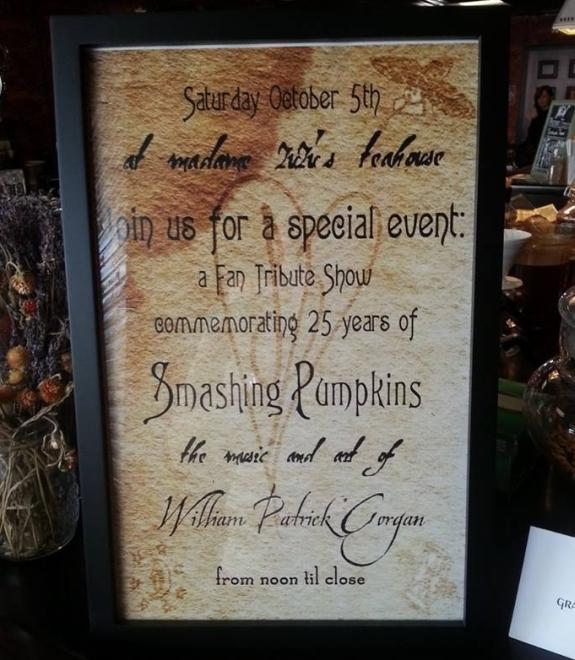 The Smashing Pumpkins 25th Anniversary Party At Madame Zuzus
